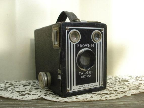 Eastman Kodak Brownie Box Camera Target Six-20
