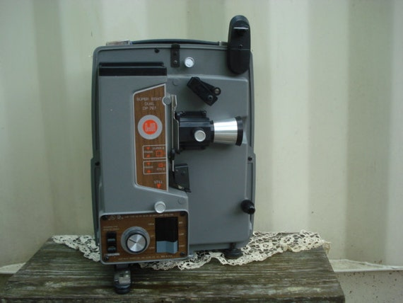 Vintage DeJur Projector Super 8 Dual DP 787