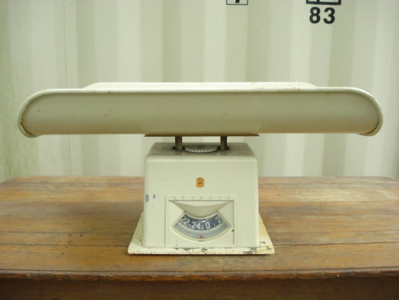 Vintage Detecto Baby Scale  Photo Prop