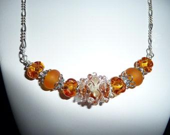 Golden Sterling Silver Necklace