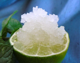 Spearmint and Lime Scrub
