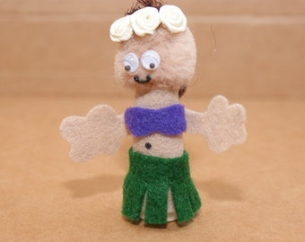 Hawaiian Finger Puppet