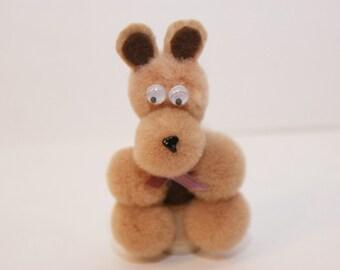Tan Bear Finger Puppet