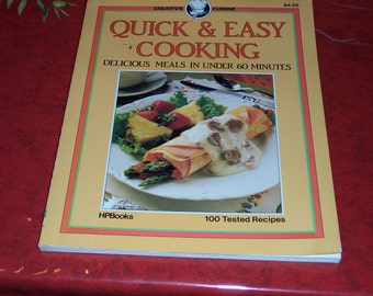 Quick And Easy Cooking By Pamela Westland-1985-Paperback