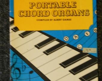 Vintage Portable Chord Organs Book 3-1964