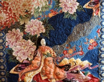 Japanese art quilts,custum made. Your choice of panels