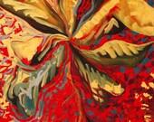 JAPANESE MAPLE - original oil painting 16x20
