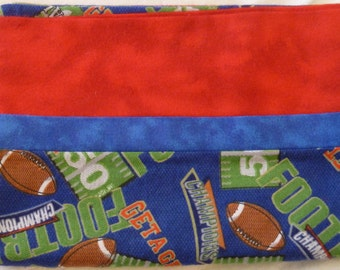Football - Touchdown - Sports Snuggly Soft Flannel Standard Size Pillowcase