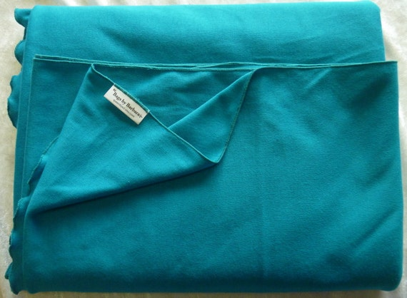 CLEARANCE SALE - Baby Wrap Sling Carrier, Teal Blue Color, Jersey Knit