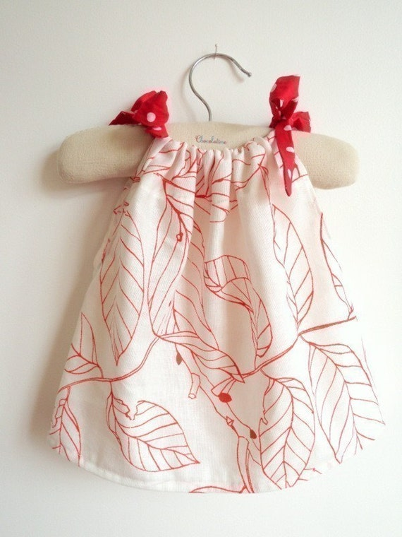 Sewing Pattern PDF - French Style Pattern - Girls Dress Tutorial - Quick and Easy Sewing 6m to 4T - Instant Download