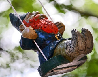 Swinging Gnome Photograph