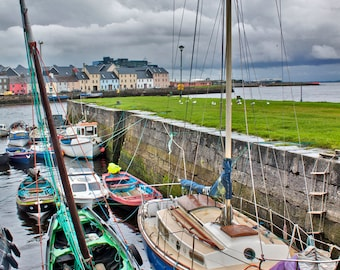 Galway Bay Boats Photograph