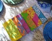 SUPER SALE Garden Party Assorted Mandala Napkins