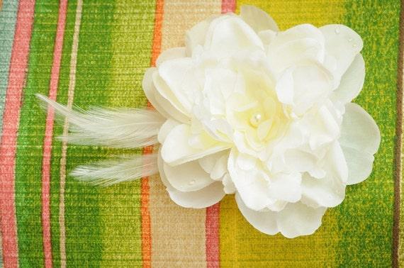 Make your own bridal accessory .... clip, pin, sash or comb