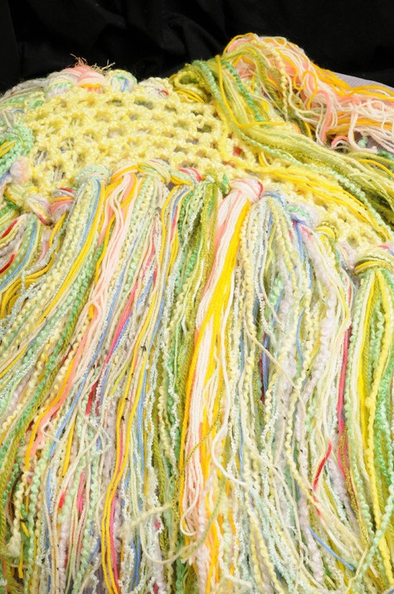 Sale...  Spring Fling.. ...   Photo Prop baby  fringe blanket... wrap ...hammock