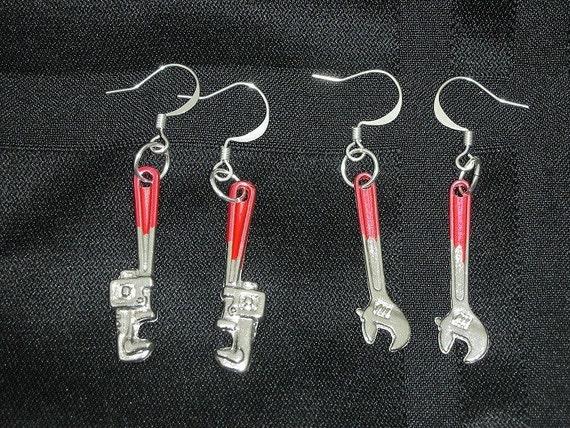 Tool Shaped Earrings