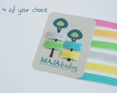 MINI no clip hair clips (4 of your choice)