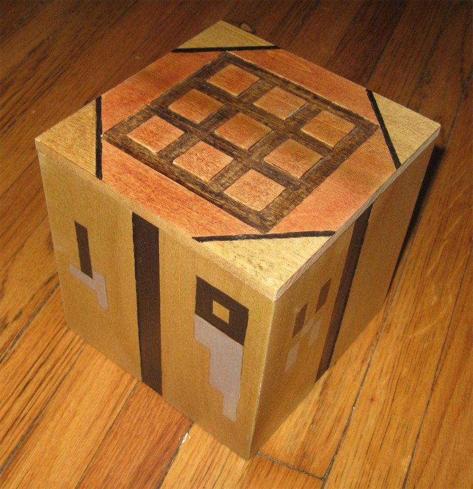 Minecraft Crafting Table Box