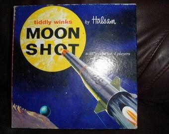 Vintage Halsam Tiddly Winks Moon Shot Game ~price reduced~