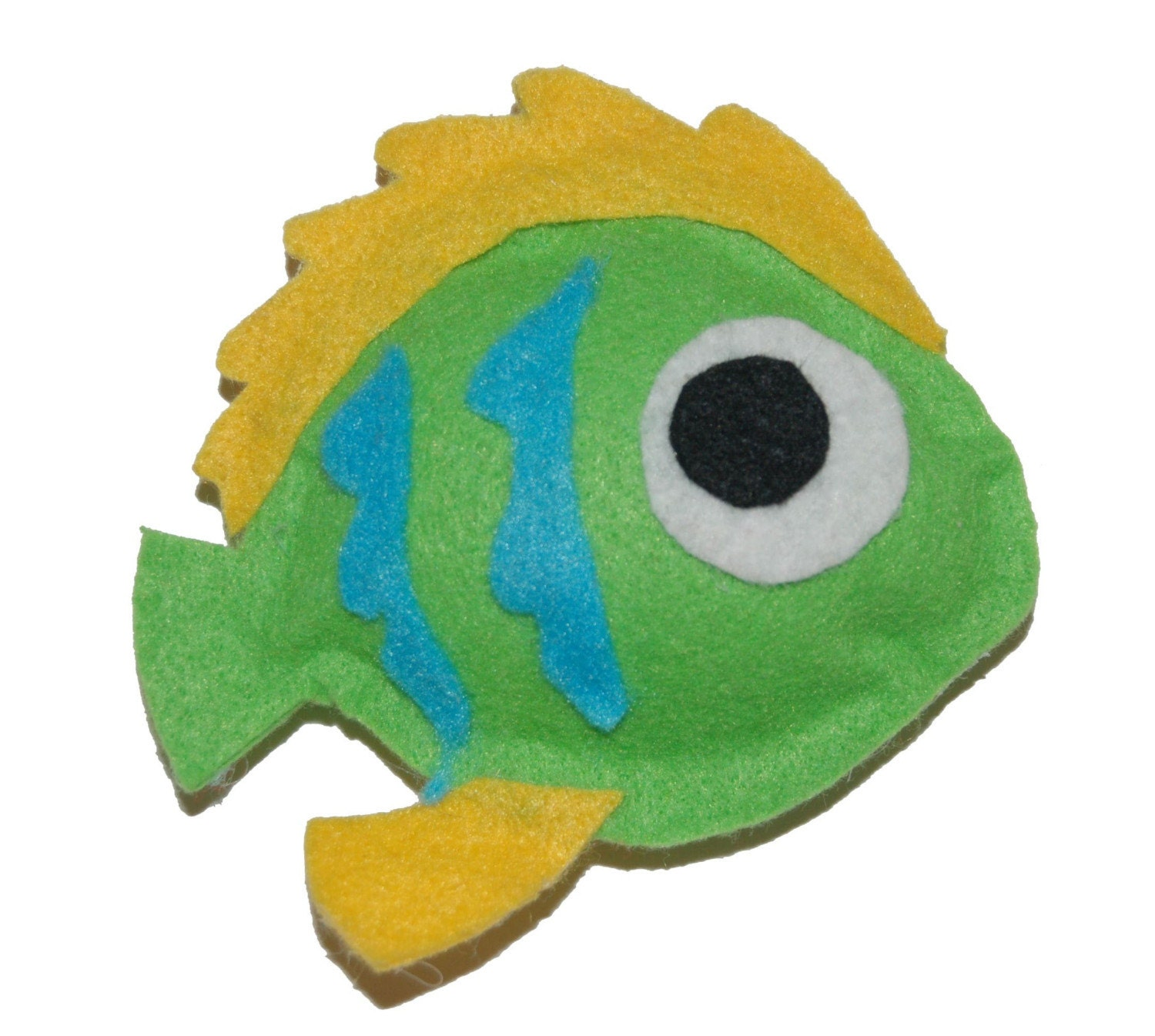 Items similar to green fish cat toy on etsy for Fish cat toy