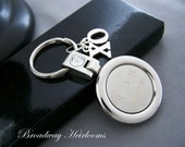 """Personalized Keychain Gift For Dad, Your Man or Someone Special - """"ALWAYS"""" (2 side engraving)"""