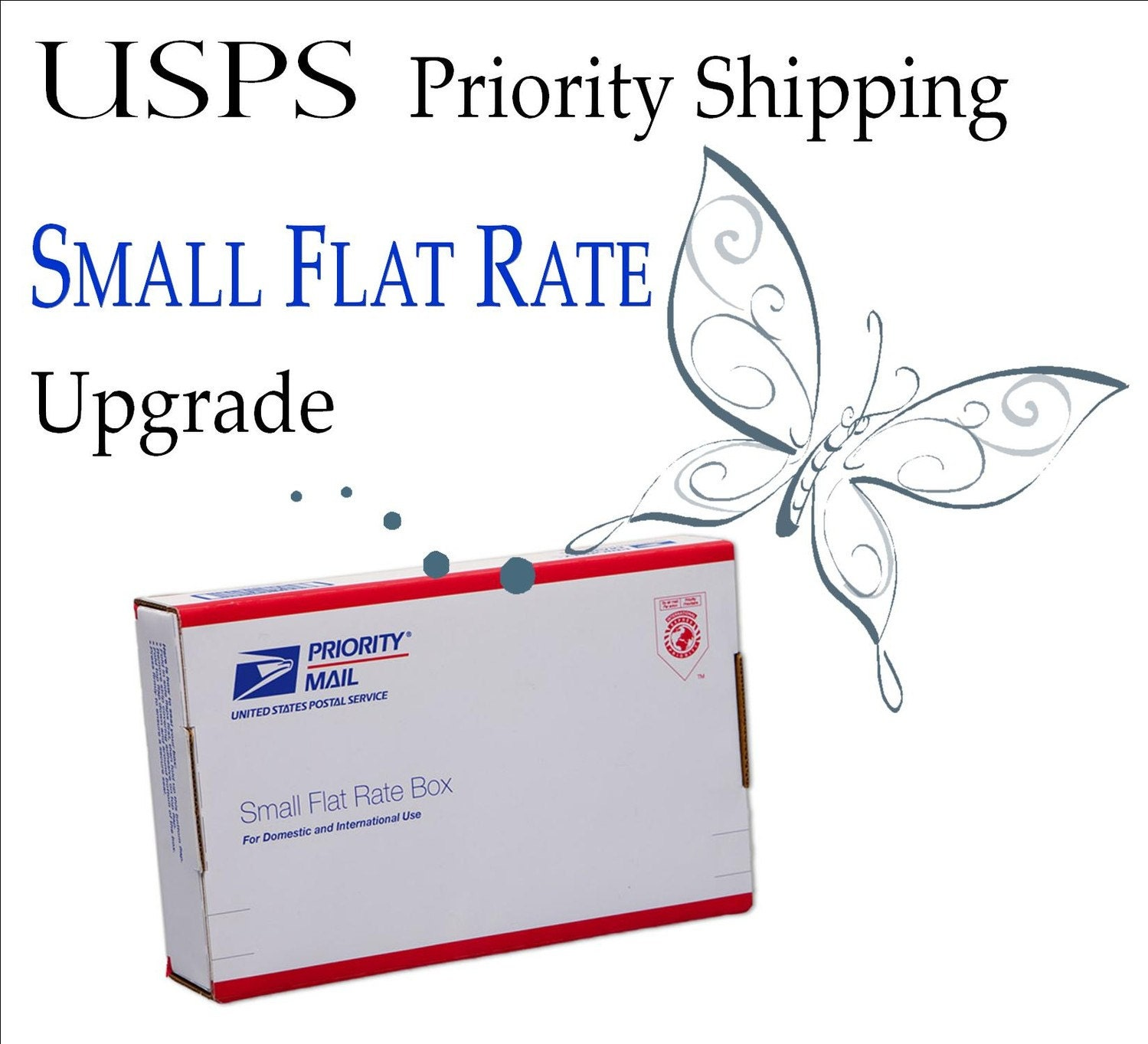 USPS Priority Mail Small Flat Rate Upgrade by ...