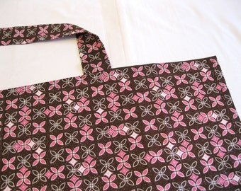 Brown and Pink Retro Nursing Cover