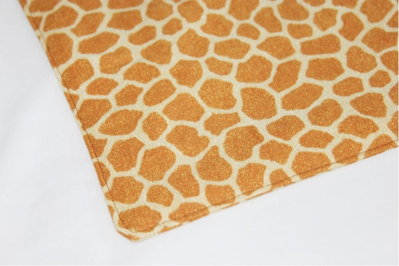 Giraffe Waterproof Changing Pad - small