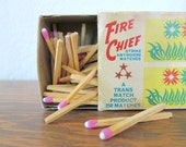 retro fire chief pink matches