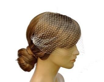 Birdcage Veil Bandeau Style,bridal veil,wedding veil.