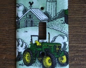 John Deere Tractor Light Switch Cover