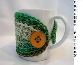 Crochet Pattern: Reusable Coffee Sleeve
