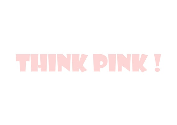 Think Pink by Milk and Honey