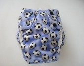 Large Soccer Pocket Diaper