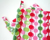 Holiday Pot Holder Set   not your Grandmother's Christmas Pot Holders