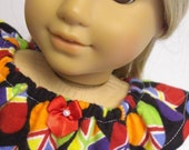 AMERICAN GIRL DOLL CLOTHES - World Peace Flannel Nightgown by MissSissy