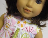 AMERICAN GIRL DOLL CLOTHES - Modern Starburst Shift Dress by MissSissy