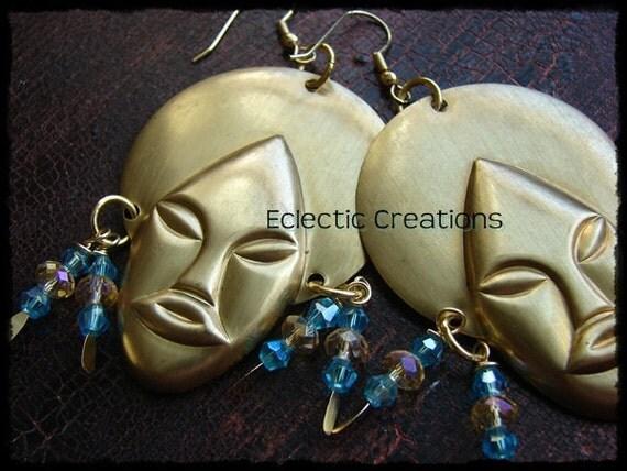Lady Sings the Blues Earrings