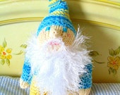 Summer Sky Gnome Doll in Blue\/Yellow