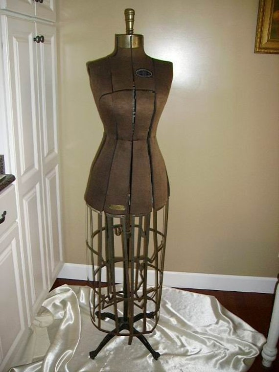 Mannequin With Metal Cage