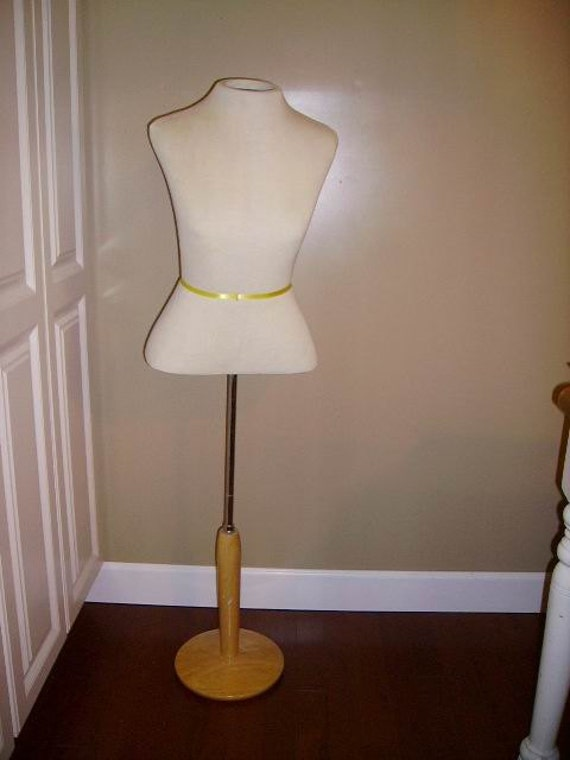 SALE - Female Half-Torso Dress Mannequin Store Display - Table Top or Floor Mannequin Display