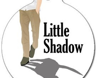 Little Shadow Dog ID Tag - Custom, Metal, Fully Personlized - Higher Quality