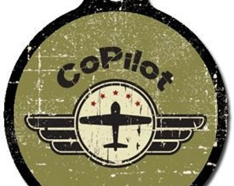 CoPilot Pet ID Tag - Custom, Metal, Fully Personlized - Higher Quality