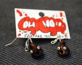 Oh-No Choco-Chip Earings