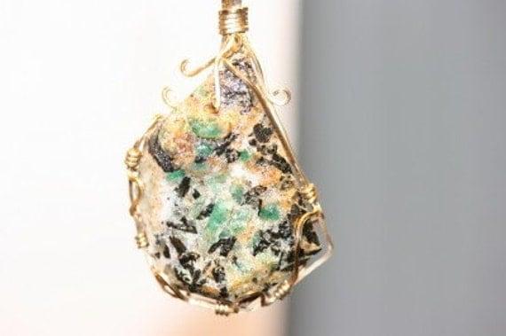 Emerald Pendant Huge Gorgeous