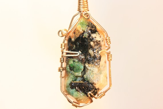 Emerald Pendant One Of A Kind