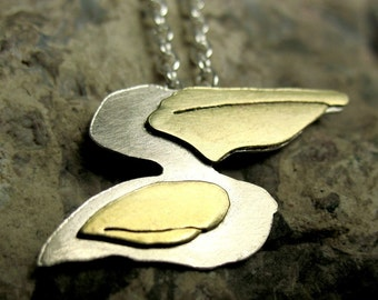 SAVE THE GULF Pelican necklace