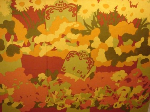 Marimekko fabric La Botte by Maija Isola 1975