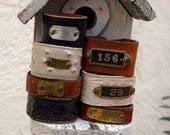 AMERICAN IDOL CONTESTANTS  wore these on 3/30 and 3/31.  Mod Squad White Cuff, Inmate 156, P-2558 and Ostridge 508 Leather Cuffs
