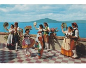 8 Vintage Costume Postcards - Mediterranea - Europe